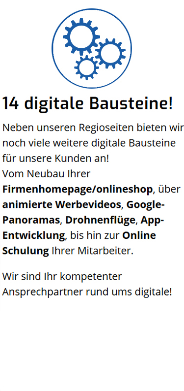 digitale Bausteine in  Barnin - Bülow, Crivitz und Zapel